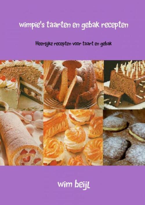 Wimpie's taarten en gebak recepten