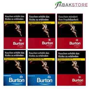 Burton-Zigaretten-alle-Sorten