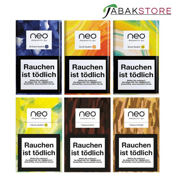 Alle-Neo-Sticks-Sorten