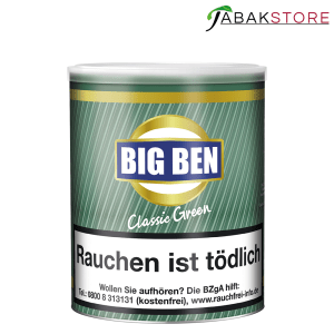 Big Ben Tabak menthol Alternativen Tabak