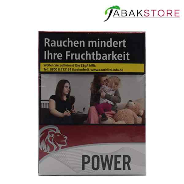 Power Red Maxi Zigaretten