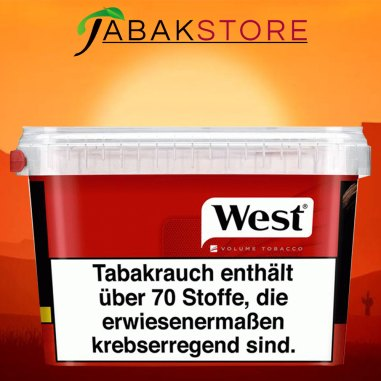west-red-volumentabak-170g-eimer