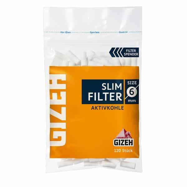 Gizeh-Slim-Filter-Aktivkohle