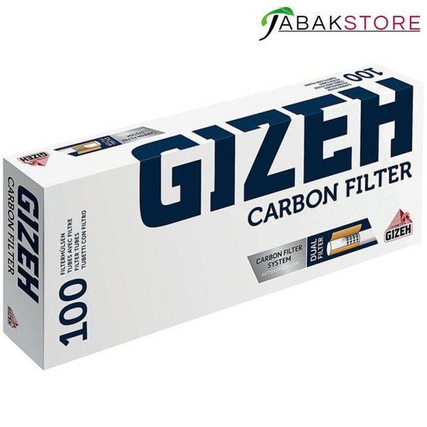 GIZEH-Carbon-Filter-Hülsen