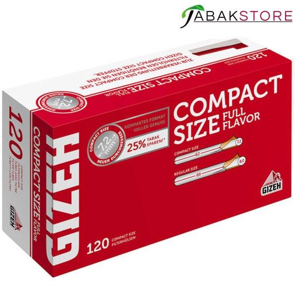GIZEH-Compact-Size-Hülsen