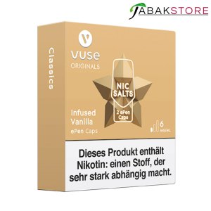 Vuse-ePen-Caps-Infused-Vanilla-6-mg-links-seitlich