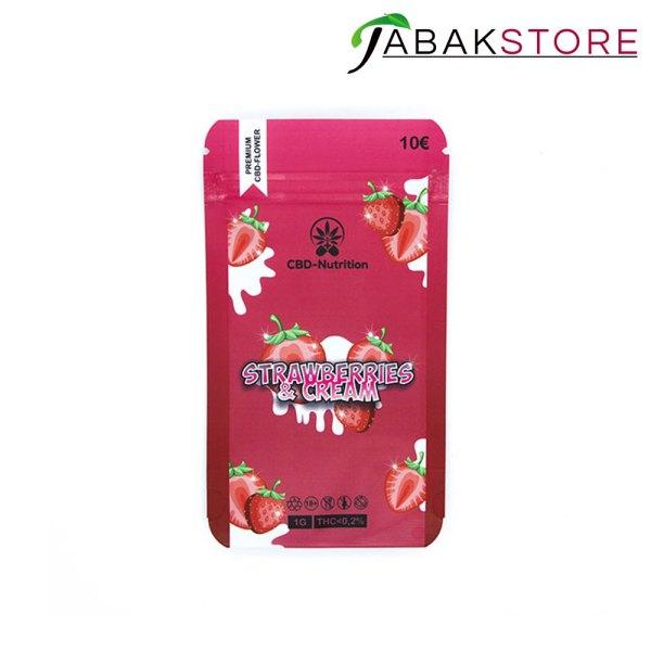 strawberry-cream-cbd-blüten
