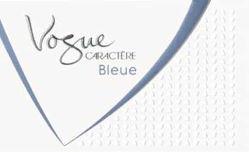 Vogue Caractere Bleue Zigaretten Logo
