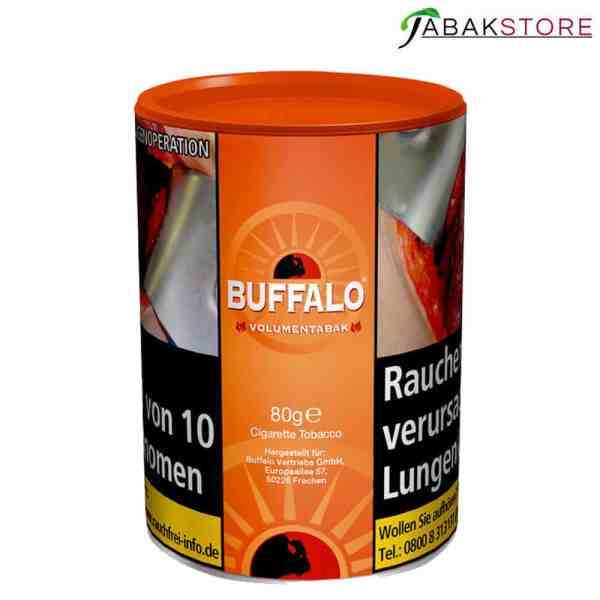 Buffalo-Red-Volumentabak