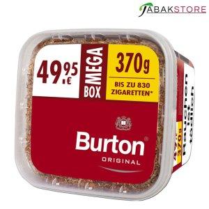 Burton Red Mega Box Volumentabak 370 G im Eimer zu 49,95 Euro