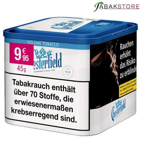 Chesterfield-Stopftabak-Blue-in-der-45g-dose