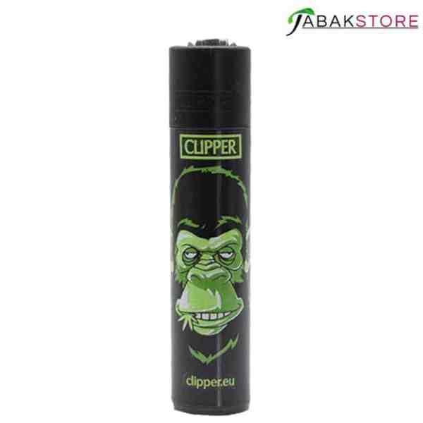 Green-Monkey-Clipper-Feuerzeug