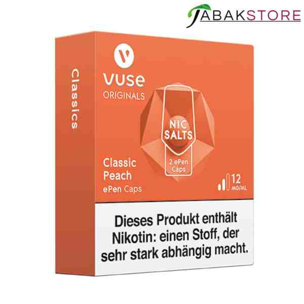Vuse-ePen-3-Caps-Classic-Peach-links-seitlich-12-mg