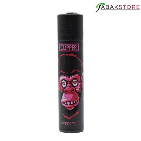 clipper-affen-pink-monky-feuerzeug