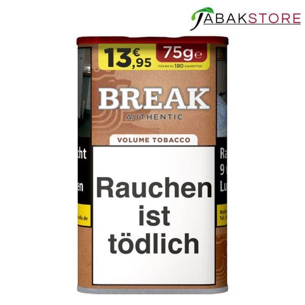 Break-Authentic-75g-Tabak-13,95-Euro