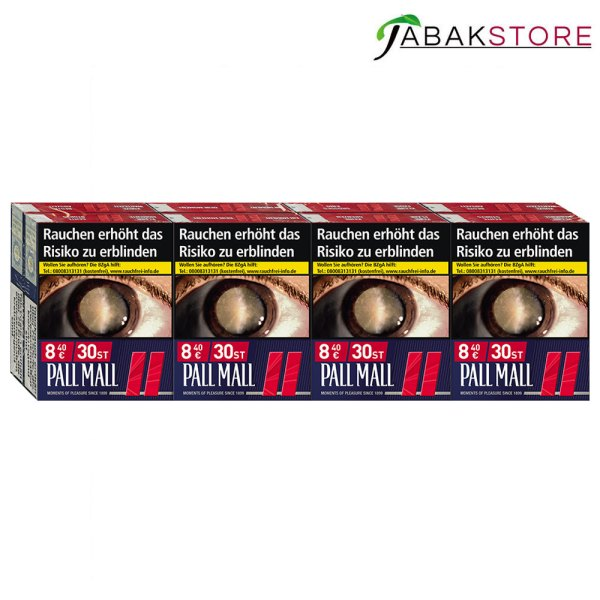 Pall-Mall-Red-XXL+-8,40-Euro-mit-30-Zigaretten