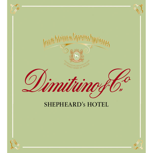 Dimitrino Shepheard Hotel Zigaretten 6,50euro