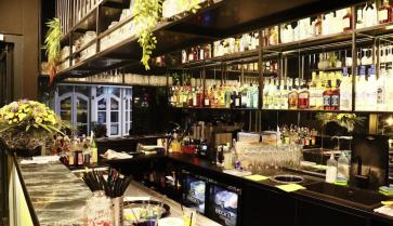 Bar ansicht der Calma Shisha bar