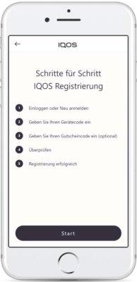 IQOS-Registrieren-übersicht