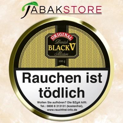 black-v-pfeifentabak-100g-dose