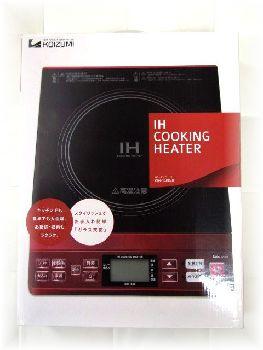 コイズミ  IHクッキングヒーター  KIH-1400/R