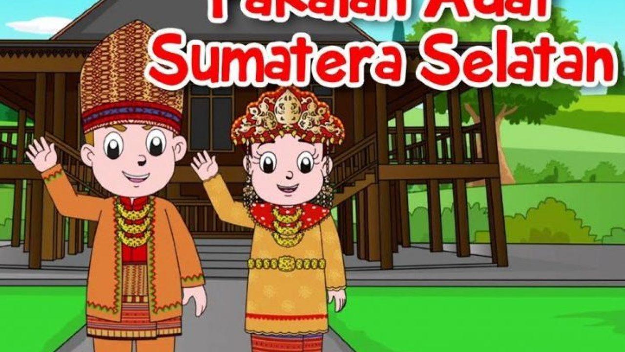 Pakaian Adat Sumatera Selatan Aesan Paksangko Lengkap