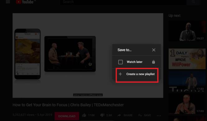 Cara Menghapus Playlist di YouTube