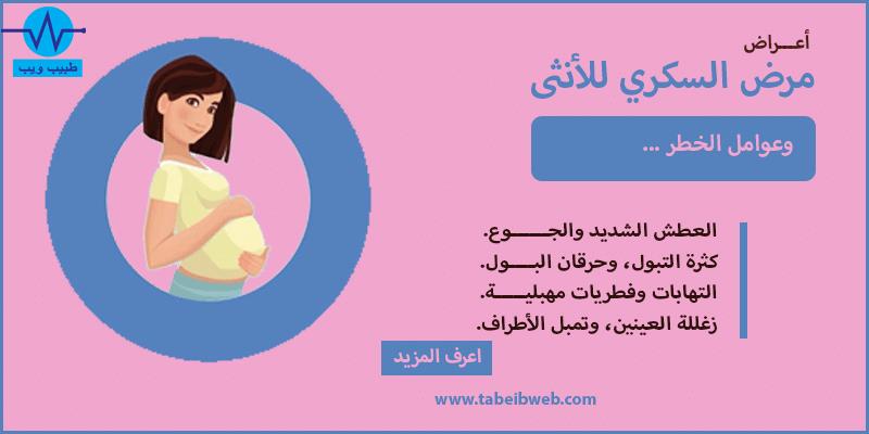 اعراض مرض السكر للانثى