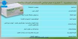 دواء سولوبريد 20 مجم و 5 مجم Solupred 20MG 5MG دواعي الاستخدام الجرعات والمحاذير