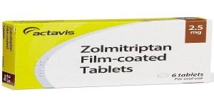 زولميتريبتان zolmitriptan لعلاج الصداع النصفي الجرعات والمحاذير