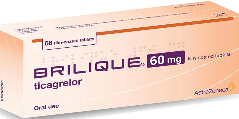دواء تيكاجريلور ticagrelor الآثار الجانبية والجرعات