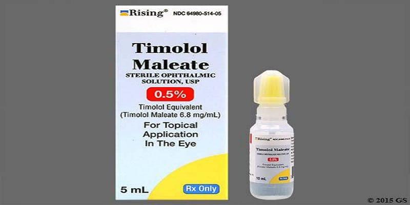 قطرة تيمولول Timolol كيفية الاستخدام والمحاذير
