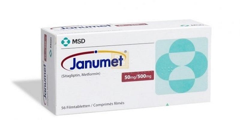 دواء جانوميت Janumet لعلاج مرض السكري