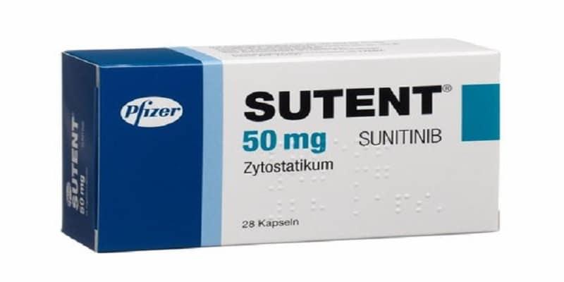 دواء سوتينت Sutent لعلاج السرطان الجرعات والمحاذير