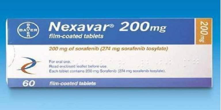 دواء نيكسافار Nexavar لعلاج السرطان الجرعات والمحاذير