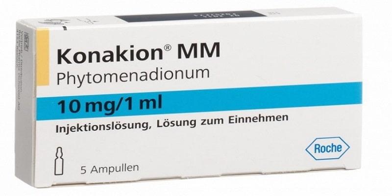 حقن كوناكيون Konakion (فيتامين K) الجرعات والمحاذير