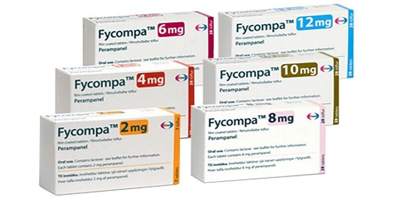 دواء فيكومبا Fycompa مضاد للصرع الجرعات والمحاذير