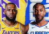 Onde a assistir a Los Angeles Clippers x Lakers 22/10/2019 – NBA
