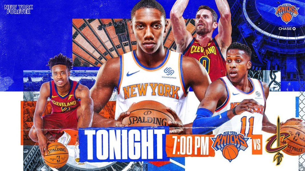 Onde a assistir a Cleveland Cavaliers x New York Knicks 18/11/2019 – NBA