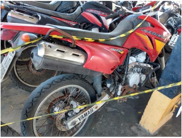 Leilão online Sead tem 253 lotes entre carros, motos e caminhões