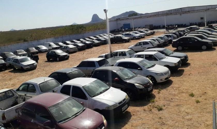 Leilão online da Polícia Rodoviária Federal (PRF) tem 647 veículos