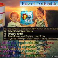 power koktajl dla dzieci