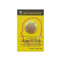 Kwiat życia – Anty radiator Gold 24 k Neutralizator promieniowania elektromagnetycznego