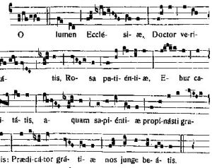 O Lumen - Antienne à Notre Père St Dominique
