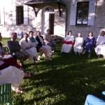 Les soeurs de Chalais et les participants de la session