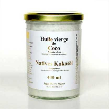 Kokosöl, biologisch - 400 ml Glas