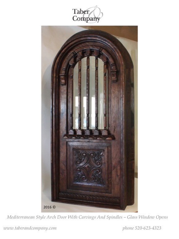 Arched Top Doors Interior
