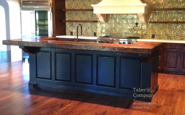 Ii Kitchen Island Wood Top Black Cabinets copy