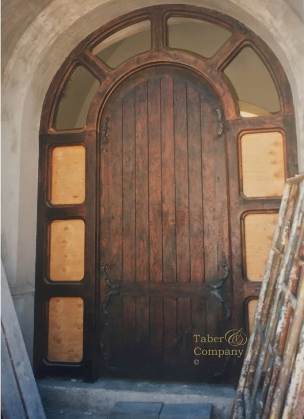 Wood Entry Doors With Sidelights Custom Made Taber
