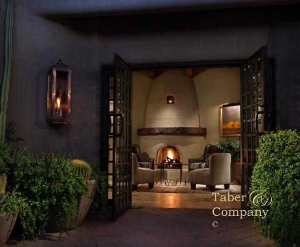 fireplace mantel beehive
